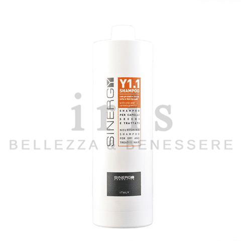 Sinergy Y1.1 - Shampoo per capelli secchi e trattati