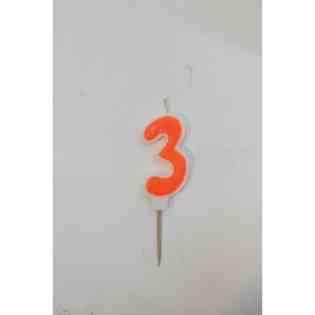 birthday candle number 3 in Chandigarh, Mohali, Panchkula