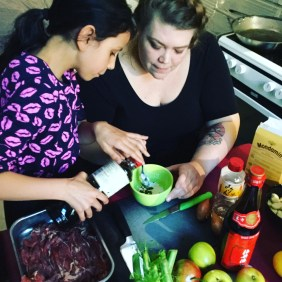 Cooking with April in Berlin