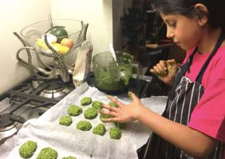 Supergreen Spinach Cookies