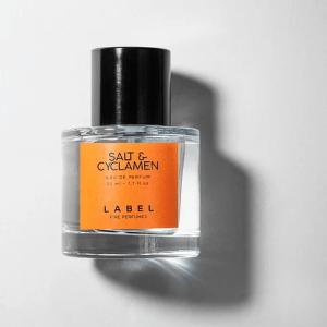 salt and cyclamen label