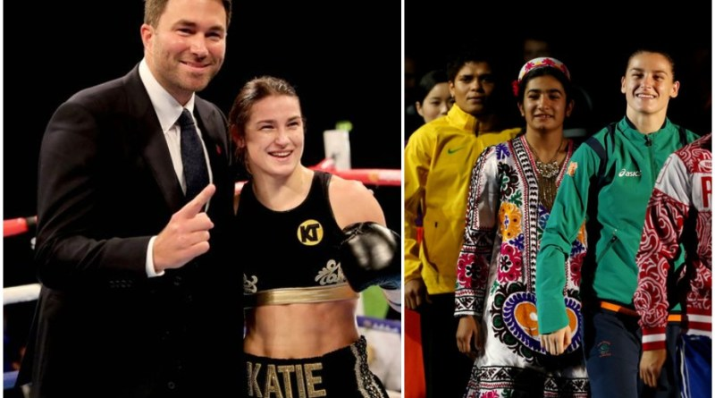'She won't like me telling you this' – Eddie Hearn brings up controversial incident from Katie Taylor's amateur career
