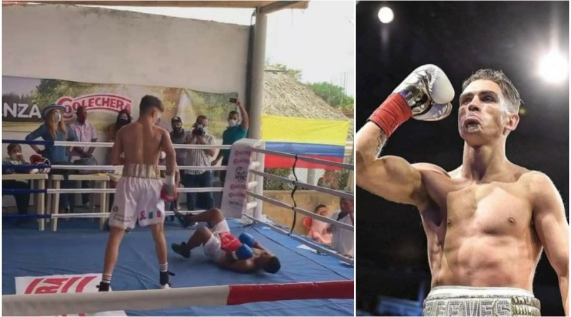 Back with a bang – Lee Reeves registers Colombian KO