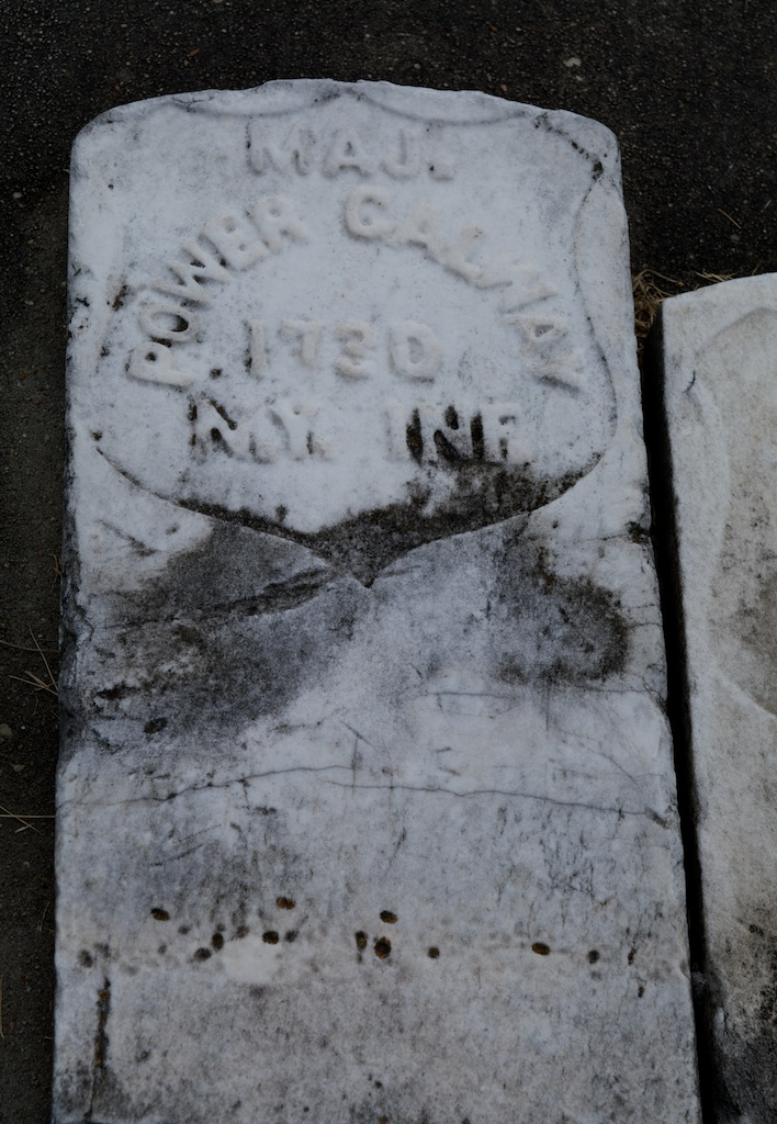The grave of Andrew Power Gallway at Saint Joseph Catholic Cemetery in Baton Rouge (Diane, Find A Grave)