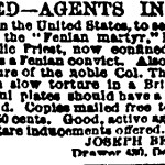 Wanted Fenian Agents