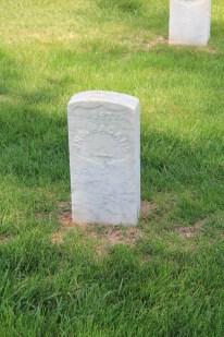 John Hagans. Died May 1862.