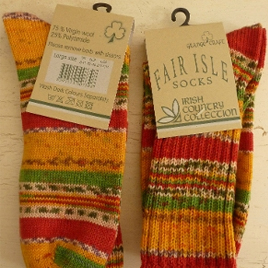 Old Yeller - Grange Craft Irish Country Collection Socks - $15.75