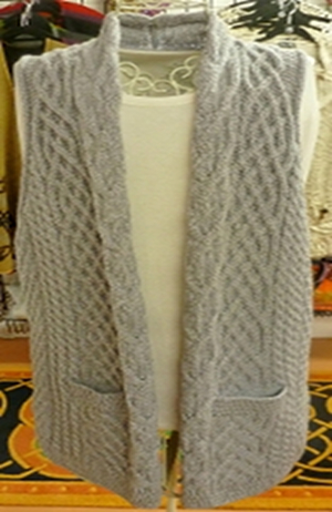 The Waist Coat that will Waste All Others - Soft Grey - $95.00