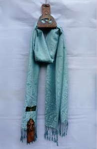 Mulligan Ireland's Pashmina/Silk Shawl - Inishtrobull Island - $32.75