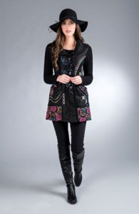 Galway Bay Long Jacket from Tivoli Spinners - $125.00
