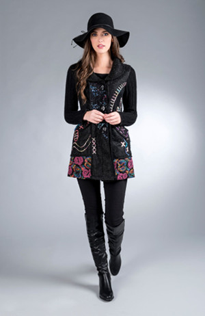 Galway Bay Long Jacket from Tivoli Spinners - $120.00