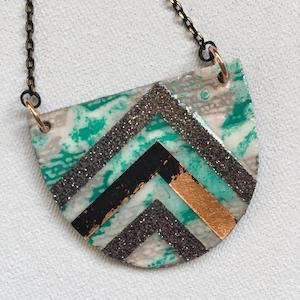 Rothlú Textile One-Of-A-Kind Sayre Necklace - $46.00