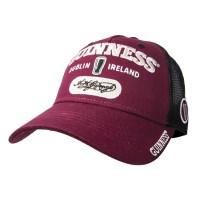 Guinness Burgundy Signature Baseball Cap $23.00