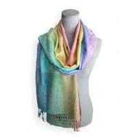 Sweet! Springtime Pastel Pashmina Shawl – Just In! $28.00