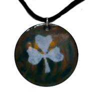 One of a kind Irish Enamel Jewelry