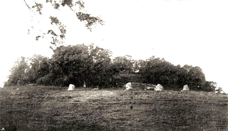 Old photograph Newgrange