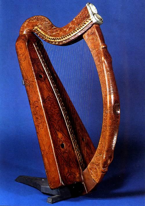 The Brian Boru Harp
