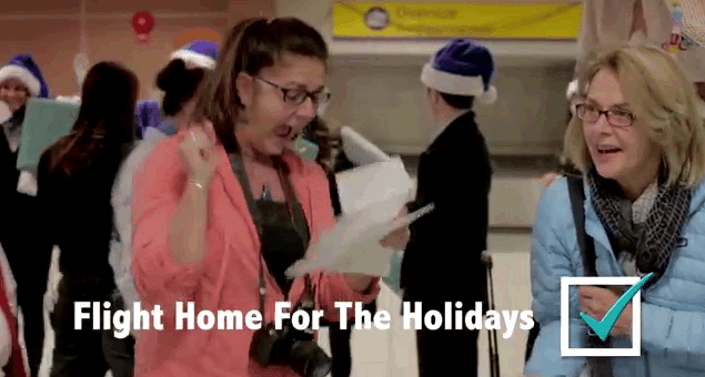 Christmas Miracle By WestJet
