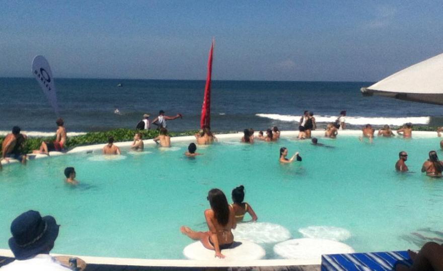 Keramas Beach Resort On The East Side Of Bali