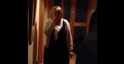 VIDEO: Son returns home from Canada to surprise his mammy