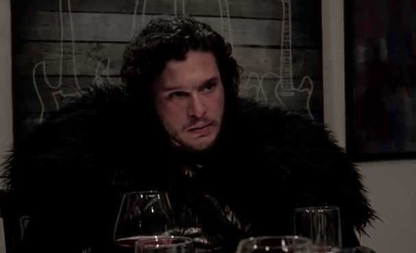 Seth Brings Jon Snow to a Dinner Party Late Night with Seth Meyers YouTube