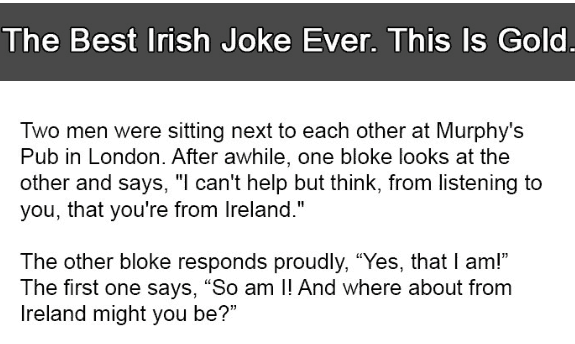 Whats Funniest Joke Ever Told
