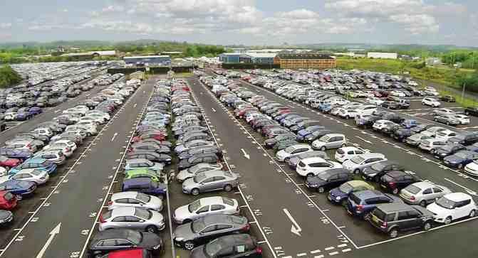 Car park - short irish jokes