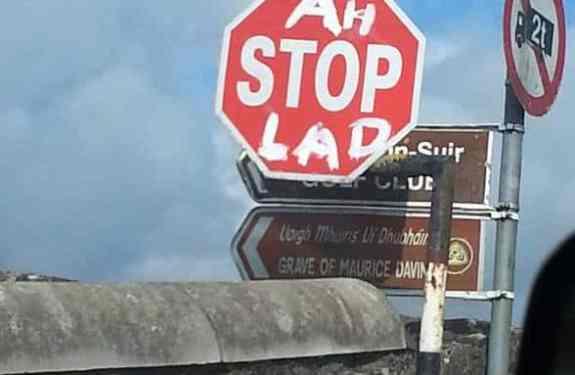road-sign-Funny Irish Photos