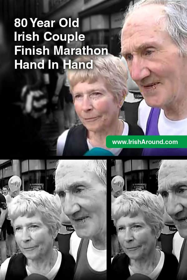 80-year-old-PIN-80 Year Old Irish Couple Finish Marathon