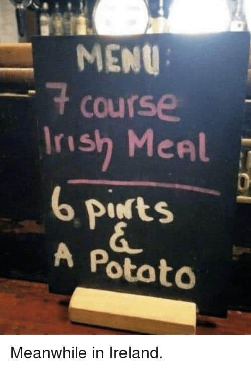 7 Course Irish Meal Irish Memes?resize=500%2C733&ssl=1 50 of the most epic irish memes on the internet ever 2018