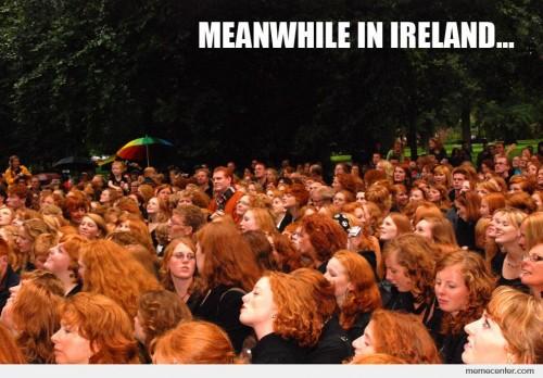 I See Red Irish Memes