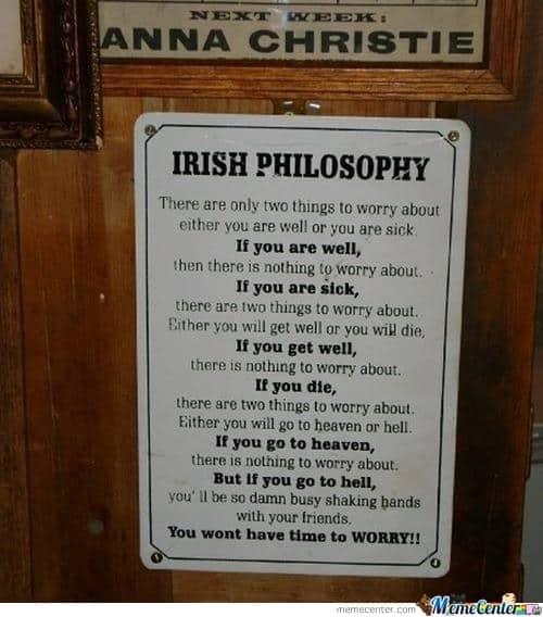 Irish Philosophy Irish Memes