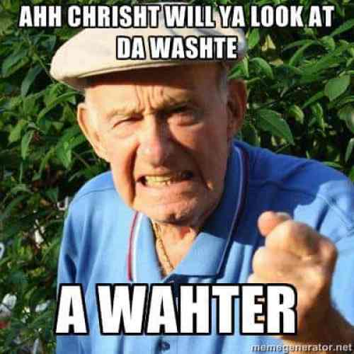 Wahter Irish Memes