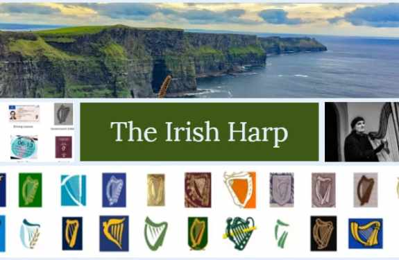 A history through the Irish harp and the story behind it.