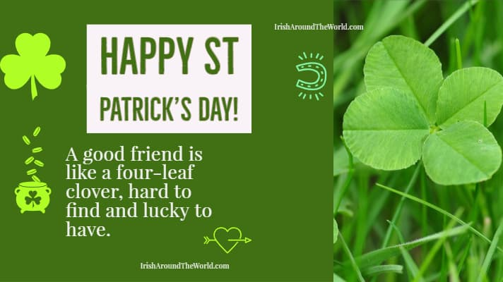Share with a friend! A good friend is like a four-leaf clover, hard to find and lucky to have.🍀