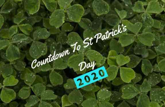 Countdown to St Patricks day 2020