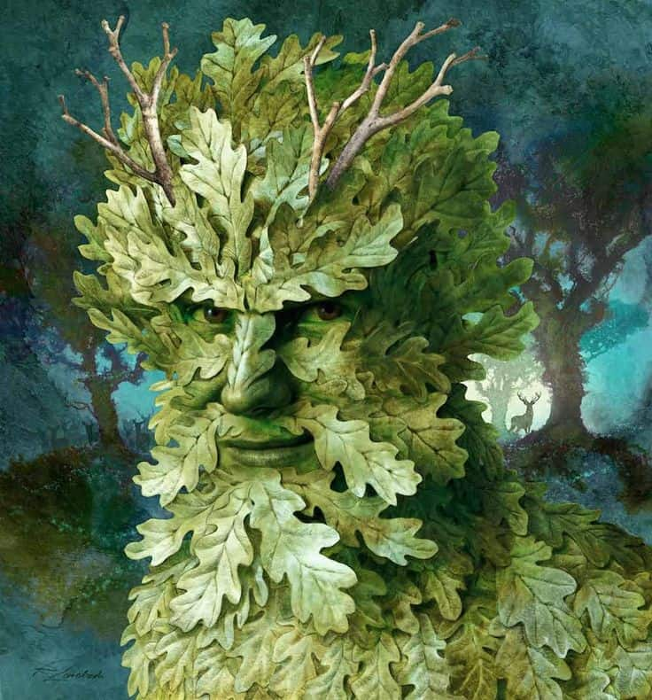 Just who is the Green Man?