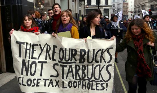 Tax-dodging hurts women worst