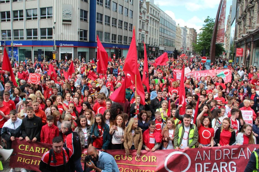 An Dream Dearg and the ongoing struggle for language rights