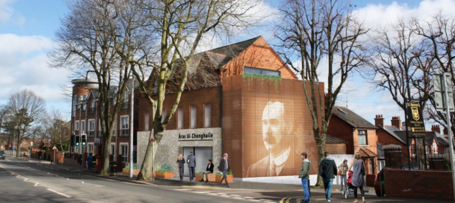 Áras Uí Chonghaile: Visitor centre honouring Connolly's legacy to open on Falls Road