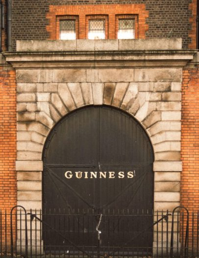 Porter stout home base, Guinness Brewery in Dublin