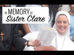 In memory of Sister Clare Crockett