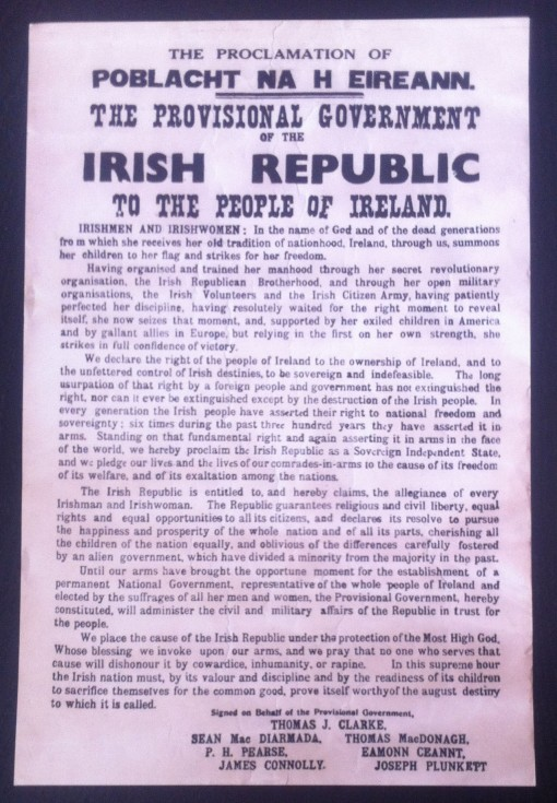 proclamation de la constitution irlandaise