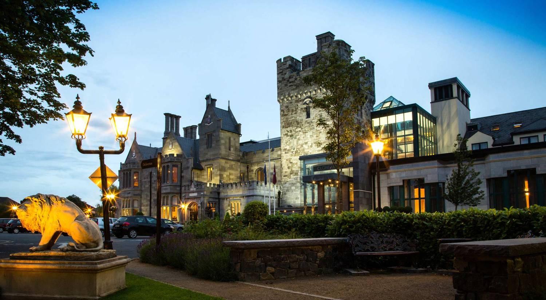 Clontarf-Castle-Exterior-Dusk-main-Banner
