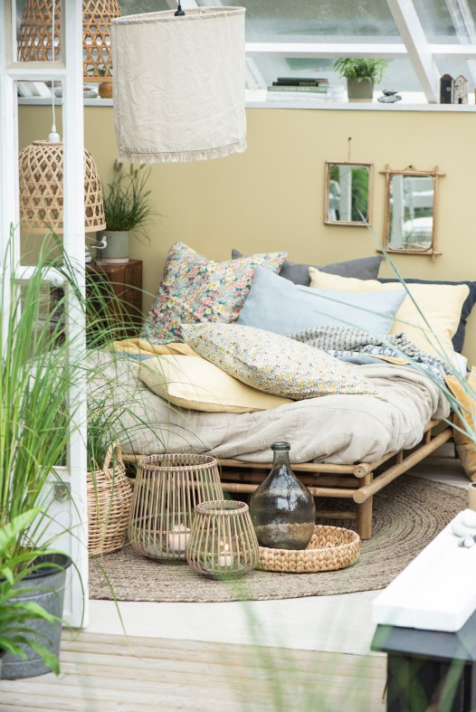 A day bed with cushions from Avoca