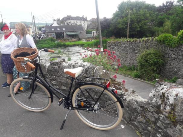 One of our Pedal Vintage Bike Hire Bicycles
