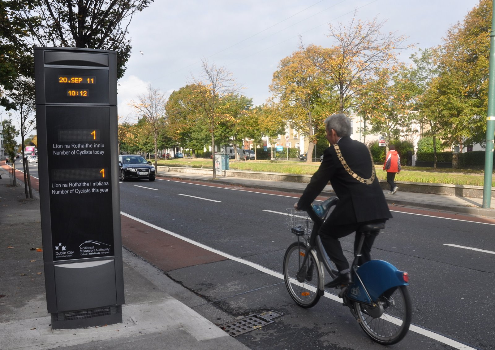 Electronic Cycle Counter Launch