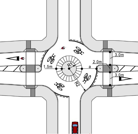 Shared roundabout