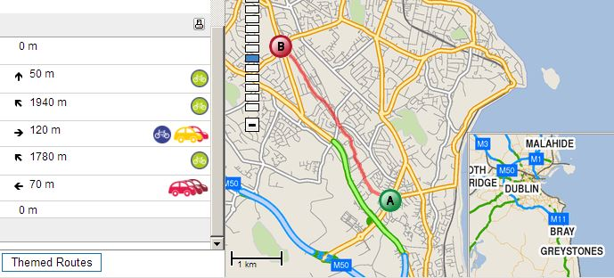 Capture Cycle Route Planner