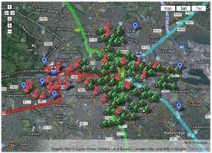 DBs map